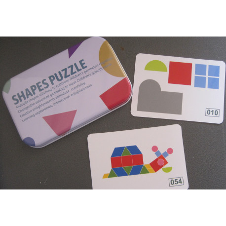 Shapes Puzzles and cards