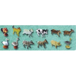 Farm Animal pack small 12pc